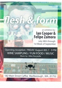 flesh & form flyer