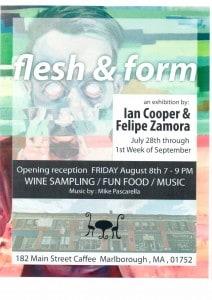 flesh & form flyer